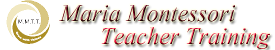 Maria Montessori Teacher Training